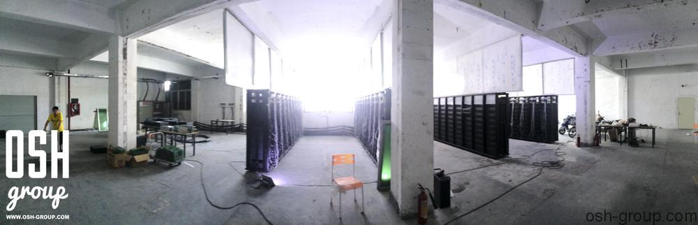 XBTec Team datacenter in China