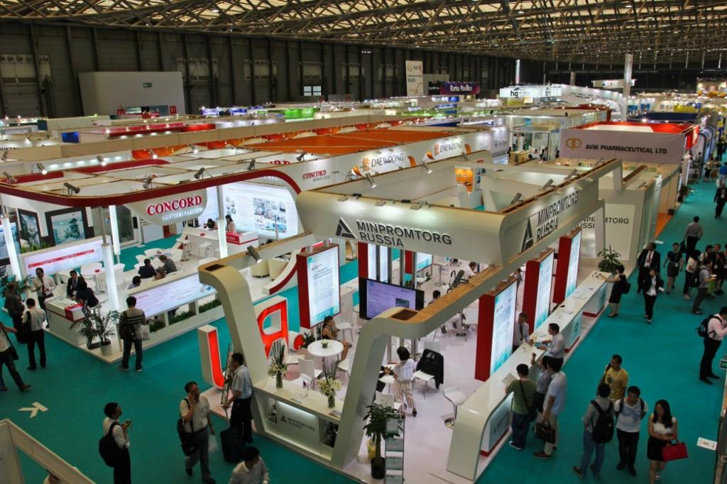 выставочный стенд в Китае