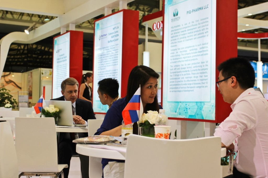 организация выставки в Китае