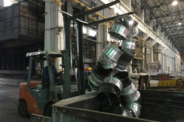 Установка оборудования на заводе Nanping Aluminium