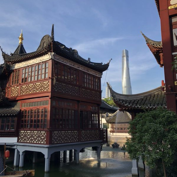 Экскурсия по Шанхаю