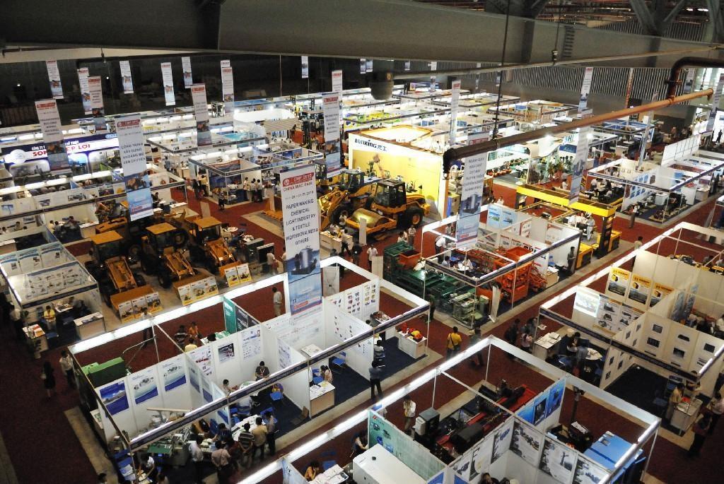 строительная выставка в Китае